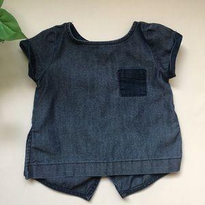 Old Navy Shirts & Tops - Girl's Old Navy Jean Shirt